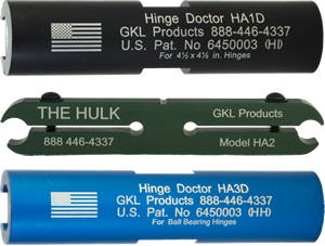 Hinge Doctor Kit HA1-3D | GKL Products
