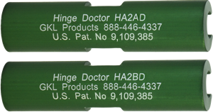 Hinge Doctor Set HA2X2D | GKL Products