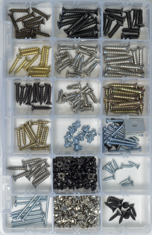 Hinge Screw Variety Kit SV1 | GKL Products